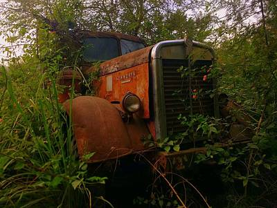 Photograph - Abandoned Kenworth Truck 1 by Salman Ravish