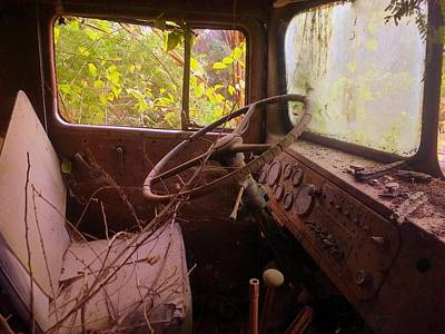 Photograph - Abandoned Kenworth Truck 3 by Salman Ravish