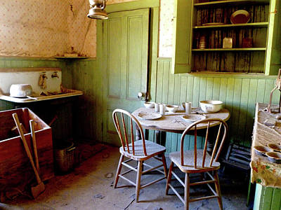 Photograph - Abandoned Kitchen by Amelia Racca