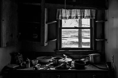 Abandoned Kitchen Art Print