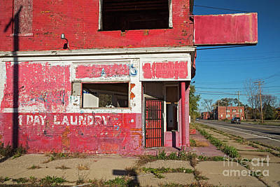 Photograph - Abandoned Laundry by Jim West