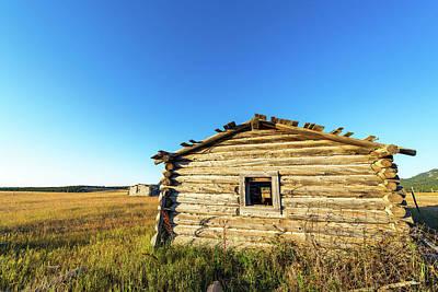 Abandoned Log Cabin Art Print by Jess Kraft