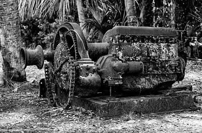 Machinery Photograph - Abandoned Logging Machinery by Artful Imagery