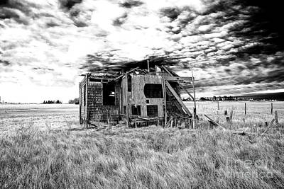 Photograph - Abandoned Long Beach Island Shack by John Rizzuto