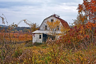 Barn Photograph - Abandoned by Marcia Colelli