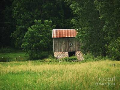 Abandoned Art Print by Marilyn Smith