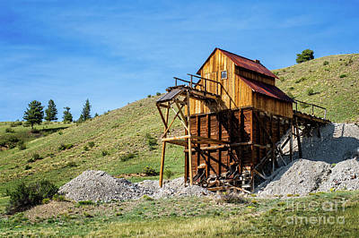 Photograph - Abandoned Mine In Creede by Susan Warren