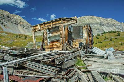 Photograph - Abandoned Mine by Tony Baca