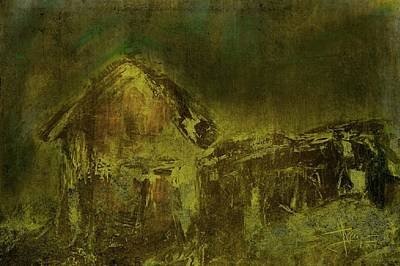 Digital Art - Abandoned Near Stirling by Jim Vance