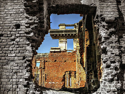 Photograph - Abandoned Palace by Daliana Pacuraru