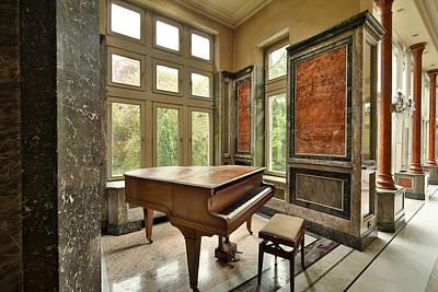 Abandoned Piano - Urban Exploration Art Print