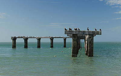 Photograph - Abandoned Pier by Sean Allen