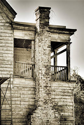 Abandoned Plantation House #5 Art Print by Andrew Crispi