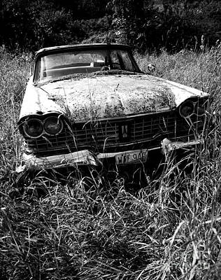 Photograph - Abandoned Plymouth by Denise Bruchman