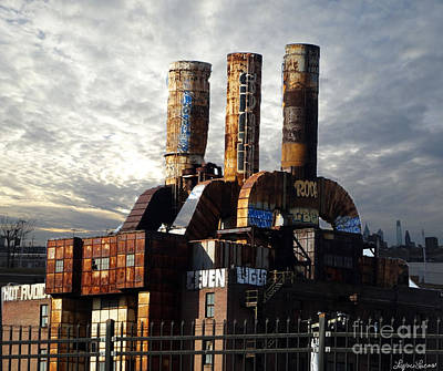 Photograph - Abandoned Power Plant by Lyric Lucas