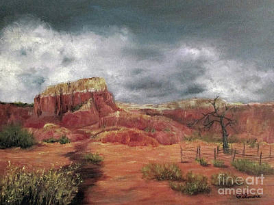 Painting - Abandoned  Ranch by Roseann Gilmore