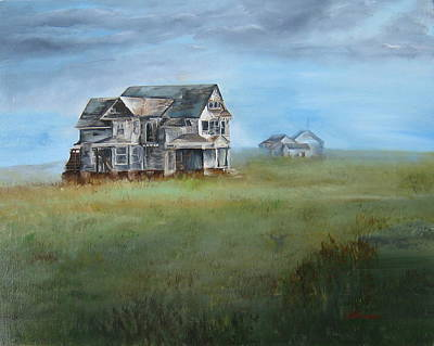Painting - Abandoned Redman - Hirahara House  by LaVonne Hand