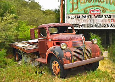 Photograph - Abandoned Relic Harmony California Full by Floyd Snyder