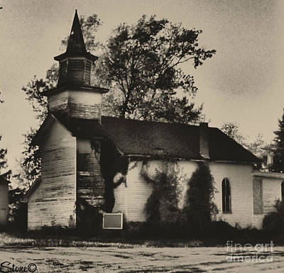 Photograph - Abandoned Religion  by September  Stone