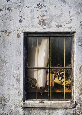 Abandoned Remnants Ala Grunge Art Print by Kathy Clark