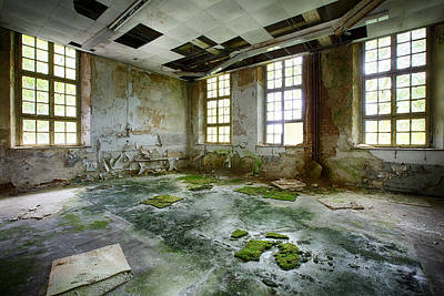 Abandoned Room - Urban Exploration Art Print