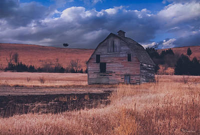 Photograph - Abandoned Rustic Barn by Anna Louise