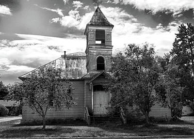 Photograph - Abandoned School by C H Apperson