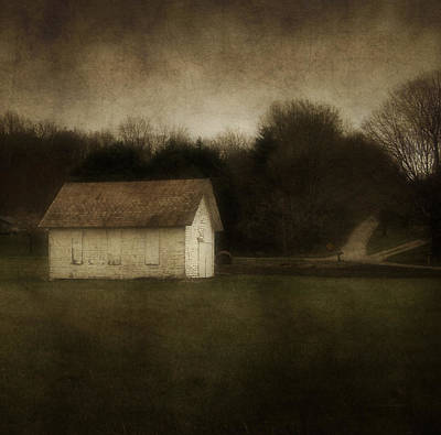 Abandoned School House Art Print