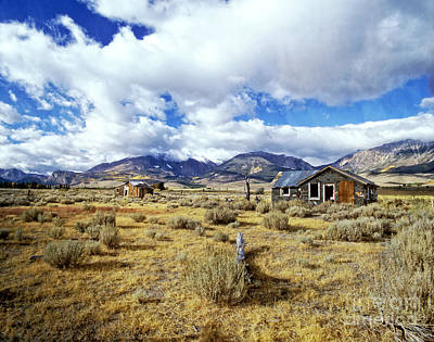 Photograph - Abandoned Shacks -eastern Sierras by Jim And Emily Bush