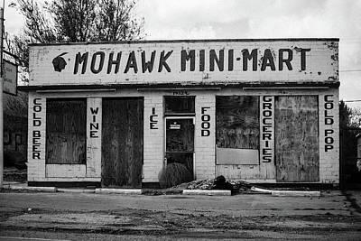 Vintage Pink Cadillac - Abandoned Shop by Rachel Cohen