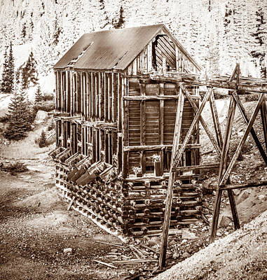 Photograph - Abandoned Silver Mine 2 by Marilyn Hunt
