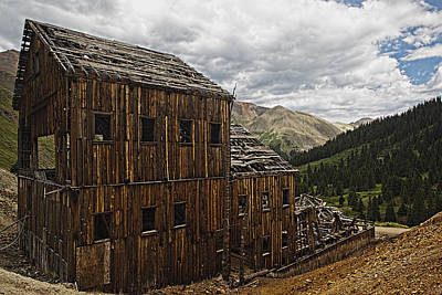 Photograph - Abandoned Silver Mine by Jonas Wingfield