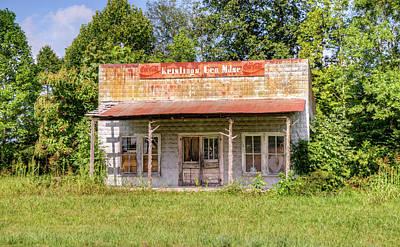 Photograph - Abandoned Sore Falling Into Disrepair by Douglas Barnett