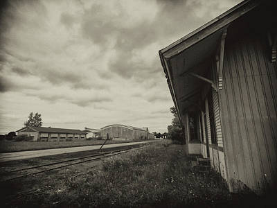Photograph - Abandoned Station by Marvin Borst