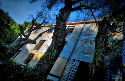 Photograph - Abandoned Summer Camp Building - Colonia Abbandonata 3 by Enrico Pelos