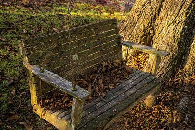 Homesickness Photograph - Abandoned Swing 2 by Douglas Barnett