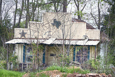 Photograph - Abandoned Texas Store by Catherine Sherman