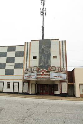 Photograph - Abandoned Theater by Karen Ruhl