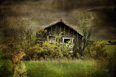 Riverstone Gallery Photograph - Abandoned Times by Allyson Schwartz