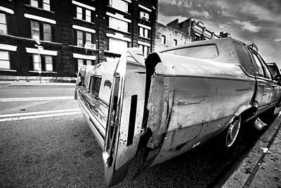 Photograph - Abandoned by Tony Reddington