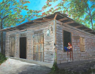 Painting - Abandoned by Tony Rodriguez