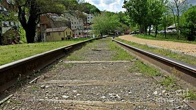 Abandoned Track At Harpers Ferry Art Print