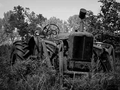 Photograph - Abandoned Tractor by Kyle West
