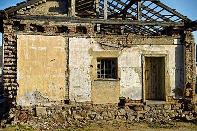 Photograph - Abandoned Train Depot by Adam Rainoff