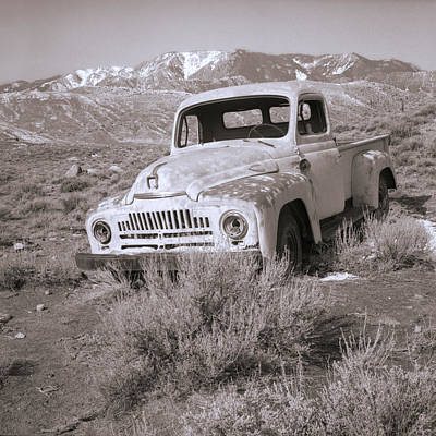 Abandoned Truck Art Print by Janeen Wassink Searles