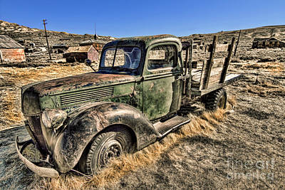 Photograph - Abandoned Truck by Jason Abando
