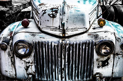Photograph - Abandoned Truck by M G Whittingham