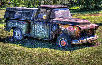 Photograph - Abandoned Truck Without Fender by Douglas Barnett