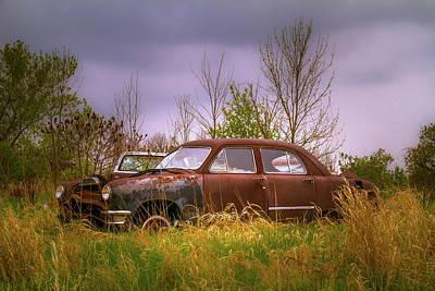 Photograph - Abandoned Tudor by Chuck De La Rosa
