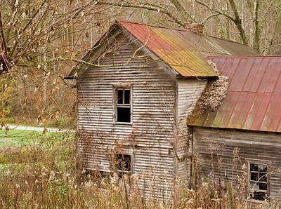 Photograph - Abandoned Turn Of Centruy Home by Douglas Barnett